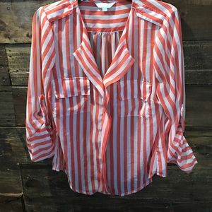 Charming Charlie pull over blouse very she…